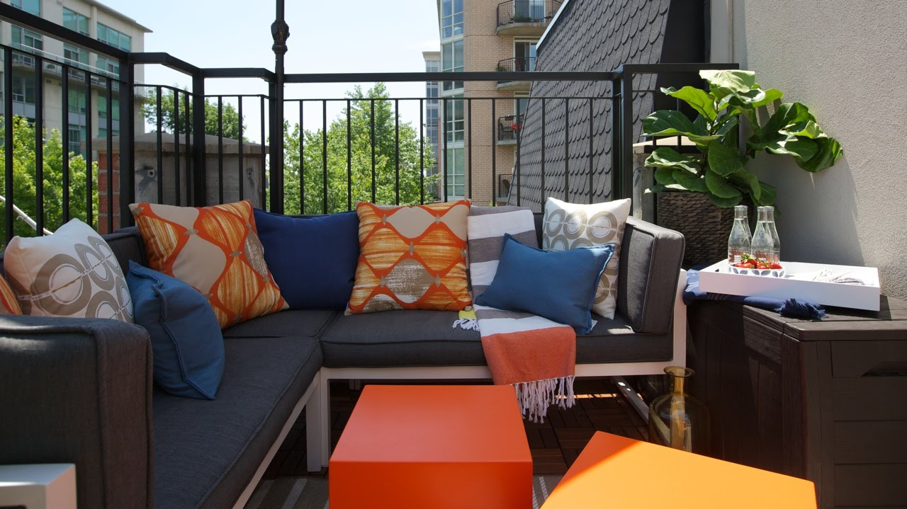 Top five design tips to maximize the impact of your condo for Condo balcony decorating ideas